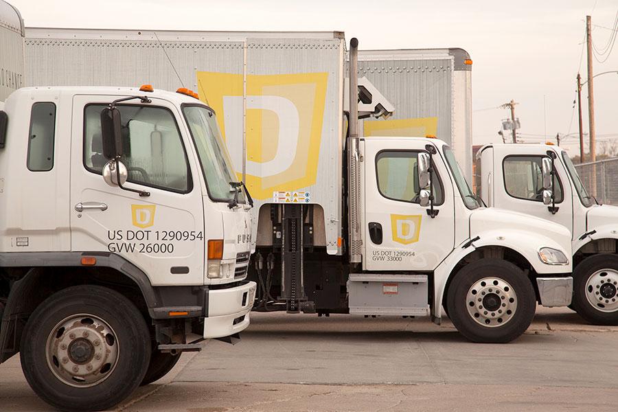DataShield trucks