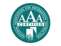 AAA Certified NAID
