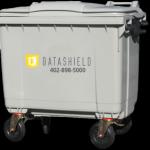 660 Liter Wheeled Purge Cart