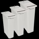 24″, 27″ & 30″ Deskside shredding container